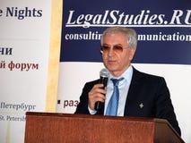 судья Россия Конституционного Суда Стоковая Фотография RF