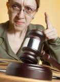 судья стоковая фотография rf