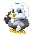судья eagleowl Стоковые Фото