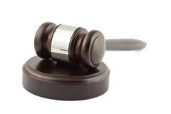 судья gavel Стоковое Фото