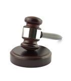 судья gavel Стоковая Фотография