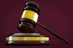 судья gavel Стоковое фото RF