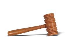 судья s gavel Стоковые Фотографии RF