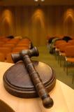 судья s gavel Стоковые Изображения