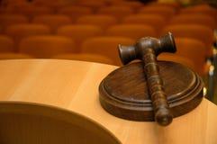 судья s gavel стоковая фотография rf