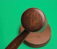судья s gavel Стоковые Изображения RF