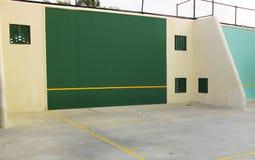 Суд ракетбола и гандбола стоковое изображение rf