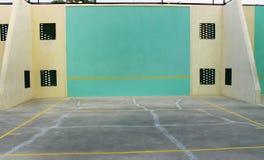 Суд ракетбола и гандбола стоковое изображение
