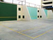 Суд ракетбола и гандбола стоковая фотография