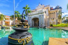 Султан Azlan Shah галереи в Kuala Kangsar, Малайзии стоковое изображение