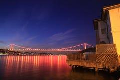 султан mehmet fatih моста Стоковое фото RF