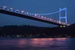 султан mehmet fatih моста Стоковое Фото