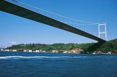 султан mehmet fatih моста Стоковая Фотография