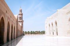 султан qaboos Омана маската Стоковые Изображения