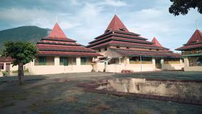 Султан Ternate мечети в утре видеоматериал