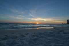 Сумасбродный заход солнца стоковое фото rf