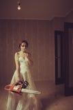 Сумашедшая невеста Стоковое Изображение