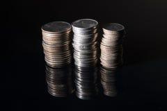 Сумашедшие стога денег Стоковая Фотография RF