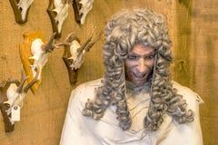 Сумашедший манекен судьи стоковое изображение