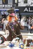 Сумашедший Hatter 2 на Camden, Лондоне, Англии Стоковые Фотографии RF
