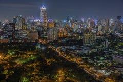 Сумерк Бангкока Стоковое Фото