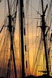 сумерк гавани Стоковые Фотографии RF