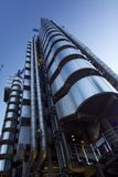 Сумерк здания Lloyds стоковое изображение rf