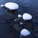 Сумерк зимы Стоковые Фотографии RF