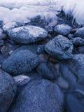 Сумерк зимы Стоковое фото RF