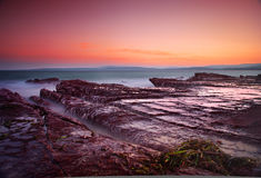 сумерк моря Стоковое Изображение