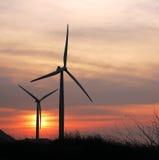 сумерк 2 турбин Стоковое Фото