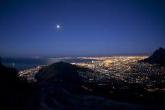 сумерк Cape Town Стоковые Изображения