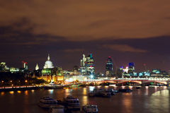 сумерк london Стоковые Фото