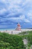 Сумерк Miami Beach Стоковые Изображения RF