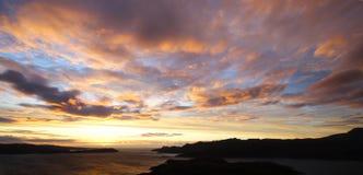 сумерк scottish ландшафта Стоковые Фотографии RF
