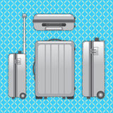 Сумка багажа путешественника Стоковые Фотографии RF