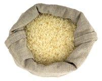 Сумка вполне проваренного слегка риса Стоковые Фото