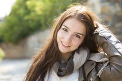 Сумка девочка-подростка Стоковое фото RF