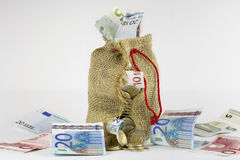 Сумка денег Стоковое Фото