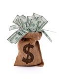 Сумка денег Стоковая Фотография RF
