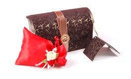 Сумка коробки подарка и подарка Стоковое Изображение RF