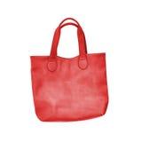 Сумка красного цвета дам Стоковая Фотография RF
