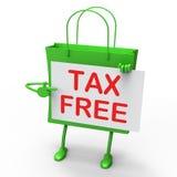 Сумка налога свободная представляет скидки обязанности неподатные бесплатная иллюстрация