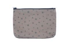 сумка одежды при молния изолированная на белизне Стоковая Фотография