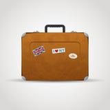 Сумка чемодана перемещения Стоковое Фото