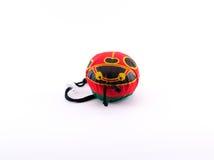 Сумка Eco в форме ladybug для ходить по магазинам Стоковые Изображения
