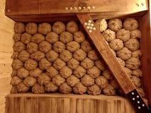 Сумки зерна хранения еды на ковчеге в тематическом парке встречи ковчега стоковое изображение