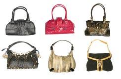 сумки собрания стоковые фото