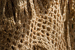 Сумки сделанные веревочки джута Стоковое фото RF