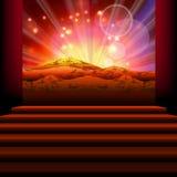 Сумрак горы бесплатная иллюстрация